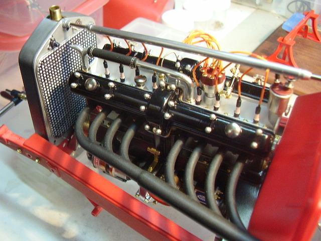 Pocher Alfa engine in its cradle....update-pa310007-jpg