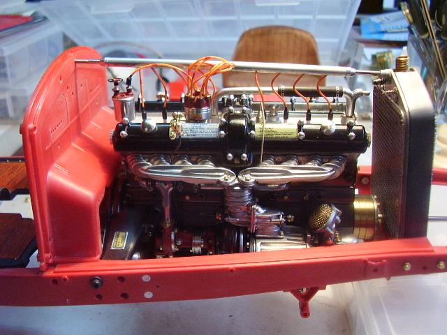 Pocher Alfa engine in its cradle....update-pa310011-jpg