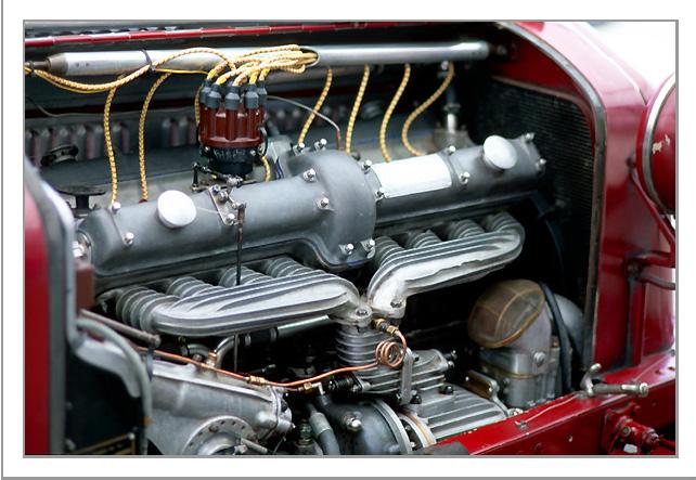 Pocher Alfa engine in its cradle....update-alfa-ref-25-jpg