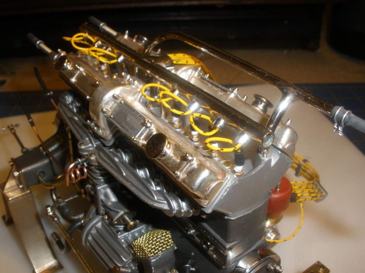 Alfa 8c2300 Engine with Magneto Start-jpg