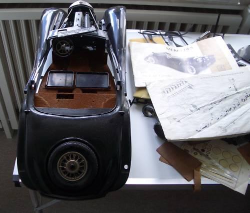 Article: Pocher K74 Mercedes Benz Spezial Cabrio A rebuild-3-2-1-meins-02-jpg