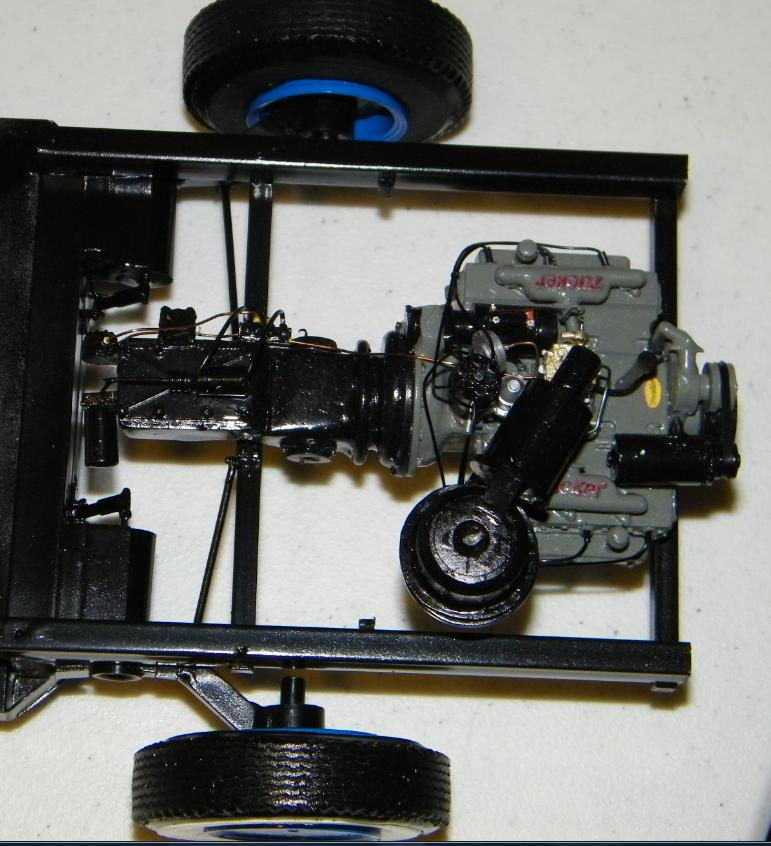 Scratchbuilt Tucker 48 in 1/12 scale-engine_chassis_mockup-jpg