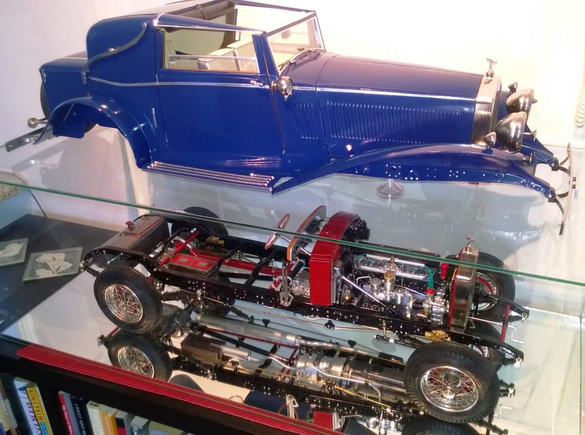 """1/8 Rolls Royce Sedanca """"Body-Off"""" Build-wp_20160408_060-jpg"""