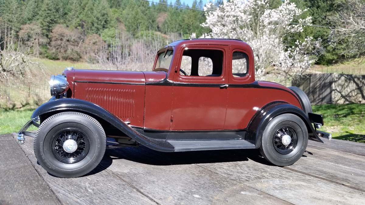 1932 FORD  Standard 5 window coupe   1/8 scale-20180204_114036-jpg
