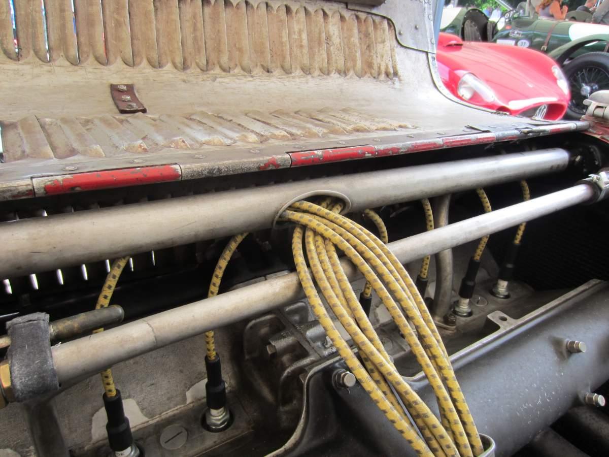ALFA ROMEO 8C 2300 ENGINE MODEL - 1/4th SCALE-img_0753-jpg
