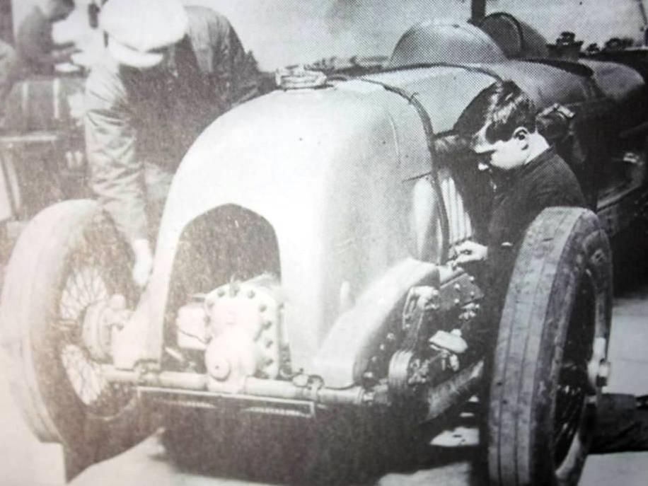 1/12 Birkin Blower Bentley single seater-bonnet-1929-jpg