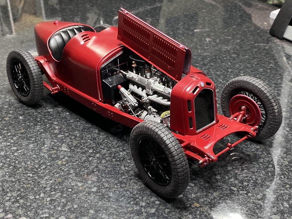 Italeri Alfa Romeo 8C 2300 Monza-49270409806_cbb711efd6_b-jpg