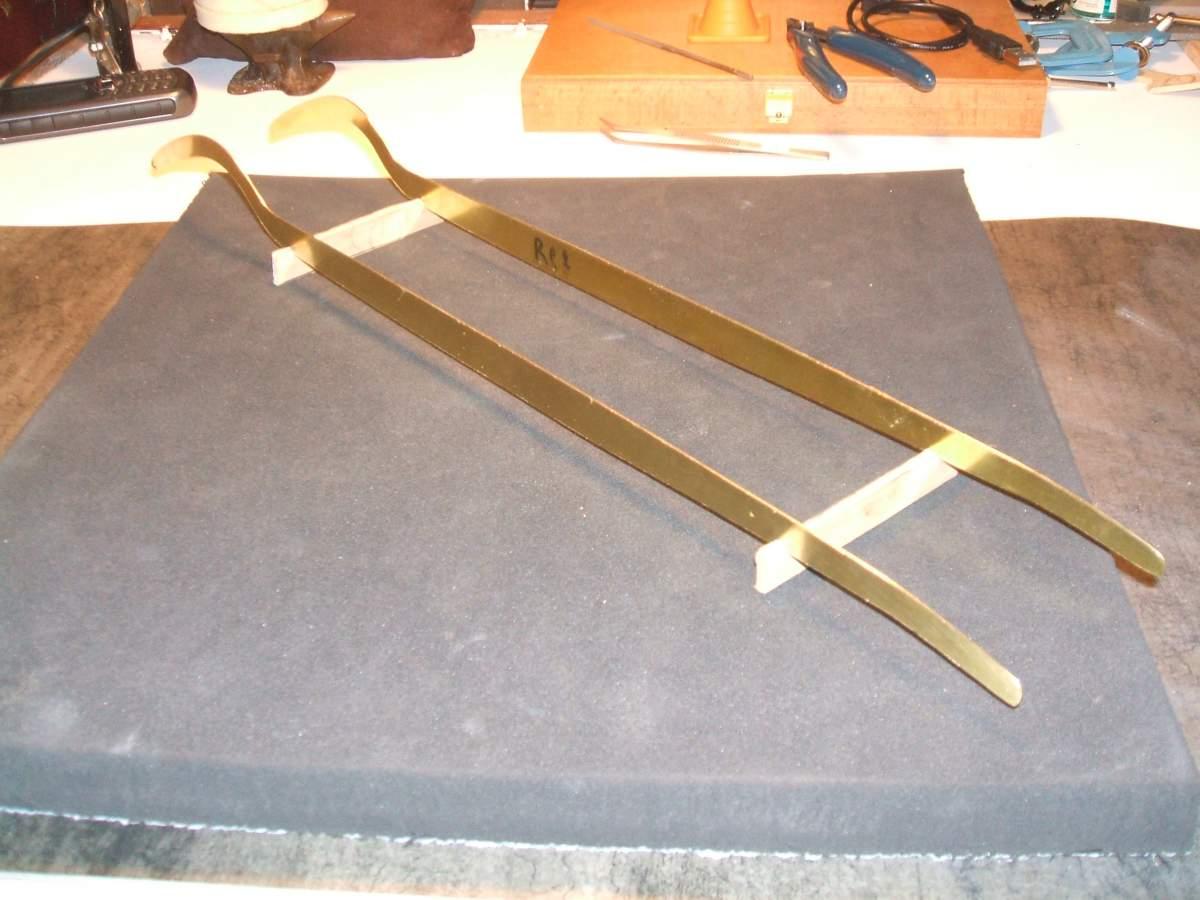 Alfa Monza 1/8 brass rolling chassis ( base Pocher )-10-jpg