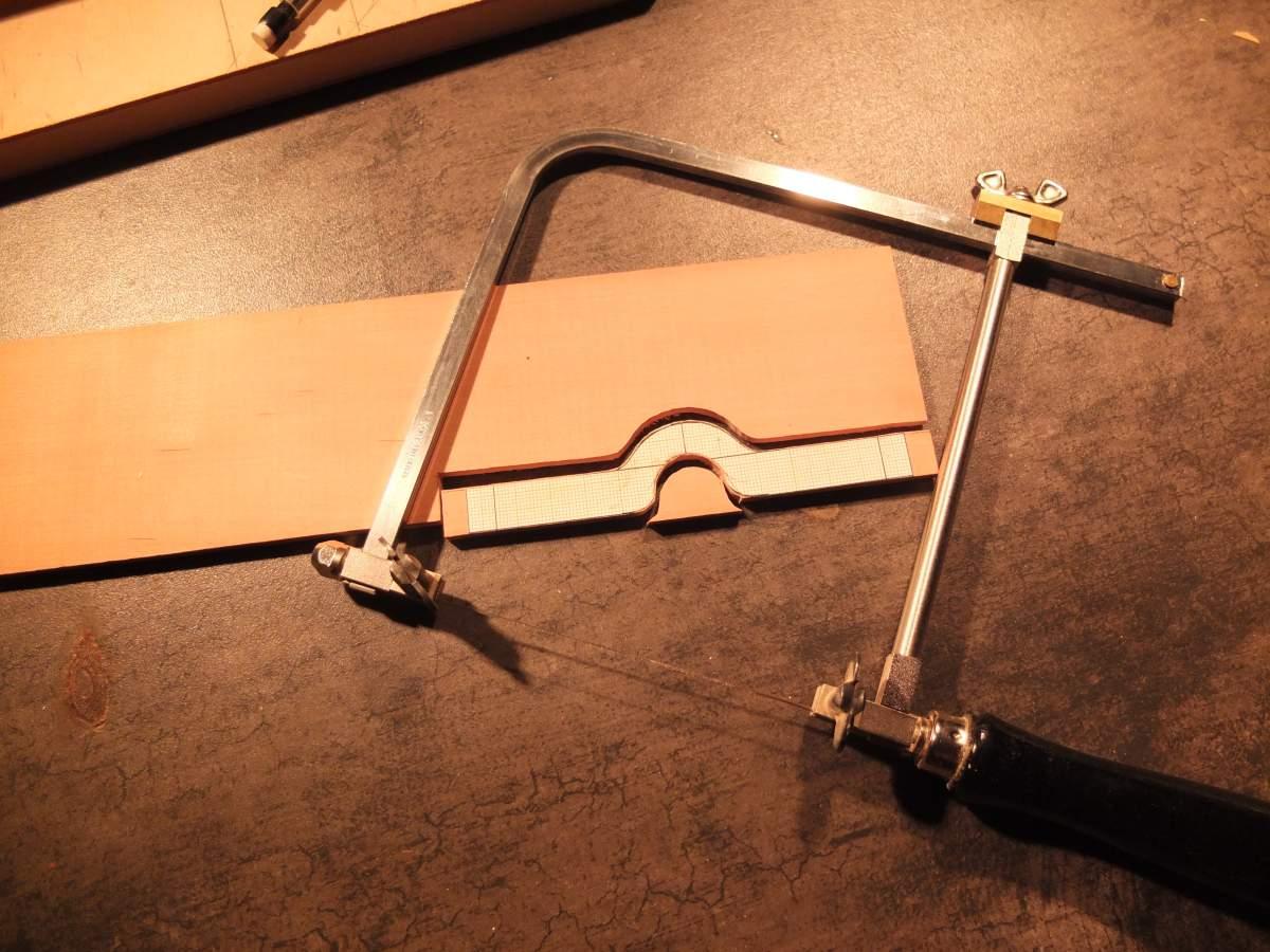 Alfa Monza 1/8 brass rolling chassis ( base Pocher )-32-jpg