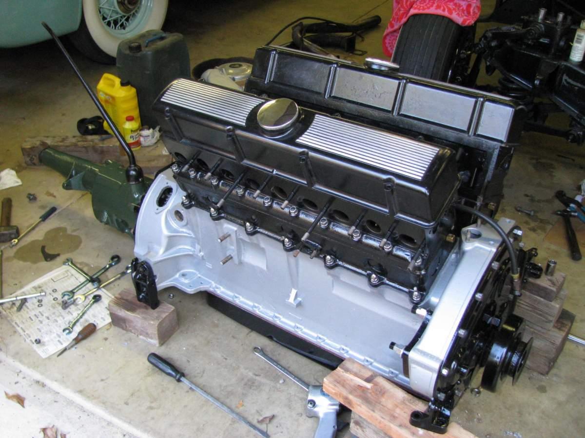 1:12 1932 Cadillac V-16 frame and engine-build-4-jpg