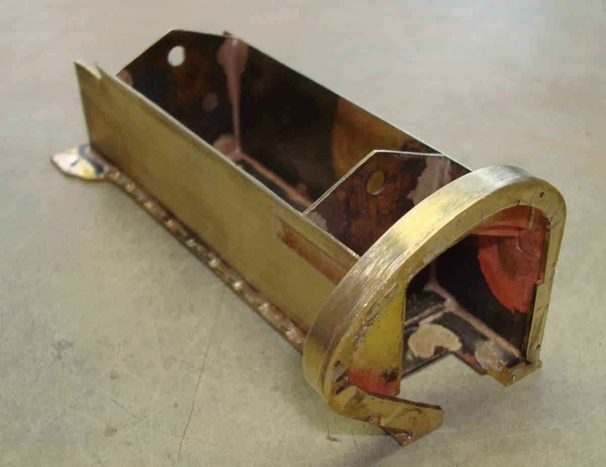 1:12 1932 Cadillac V-16 frame and engine-205-crankcase-jpg