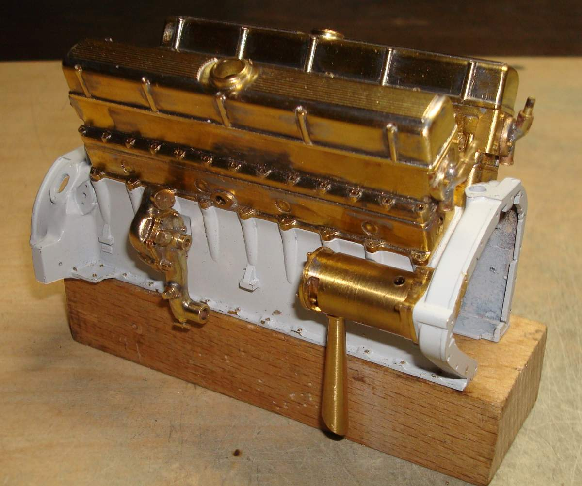 1:12 1932 Cadillac V-16 frame and engine-265-completed-pump-jpg