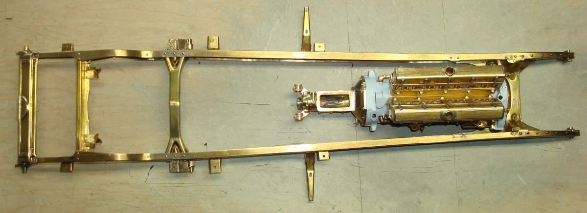 1:12 1932 Cadillac V-16 frame and engine-283-frame-engine-jpg