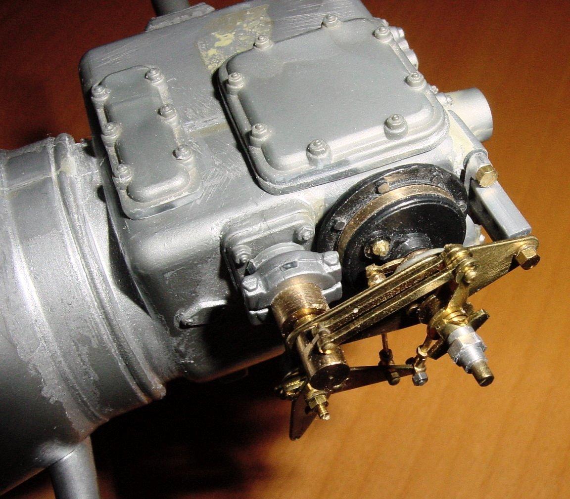 Pocher Rolls Royce scratchbuilt chassis-brake-servo-model-009-jpg