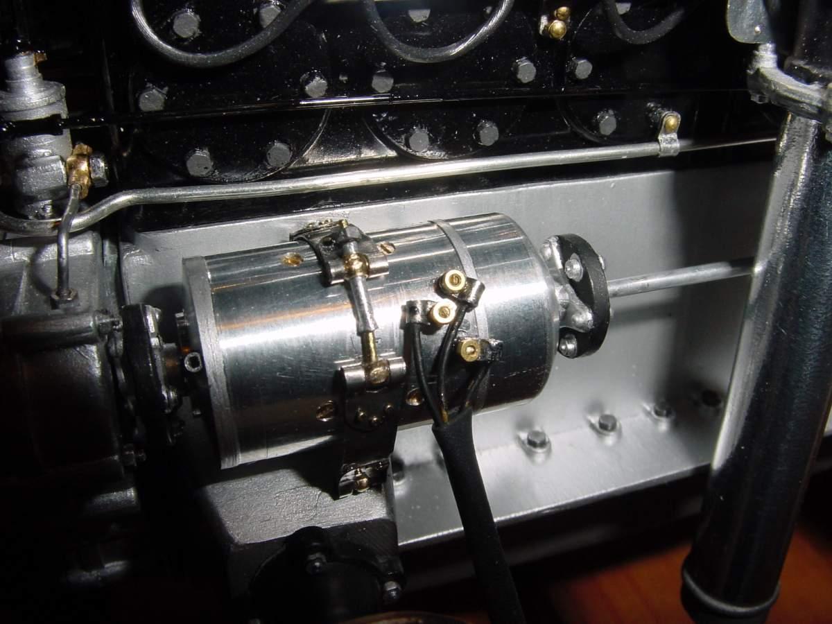 Pocher Rolls Royce scratchbuilt chassis-dynamo-model-008-jpg