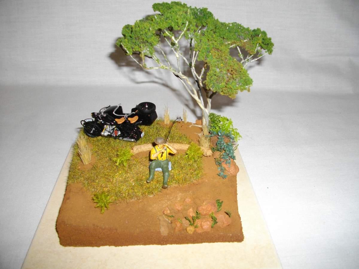 BMW with sidecar.-bike-car-diorama-finished-002-jpg