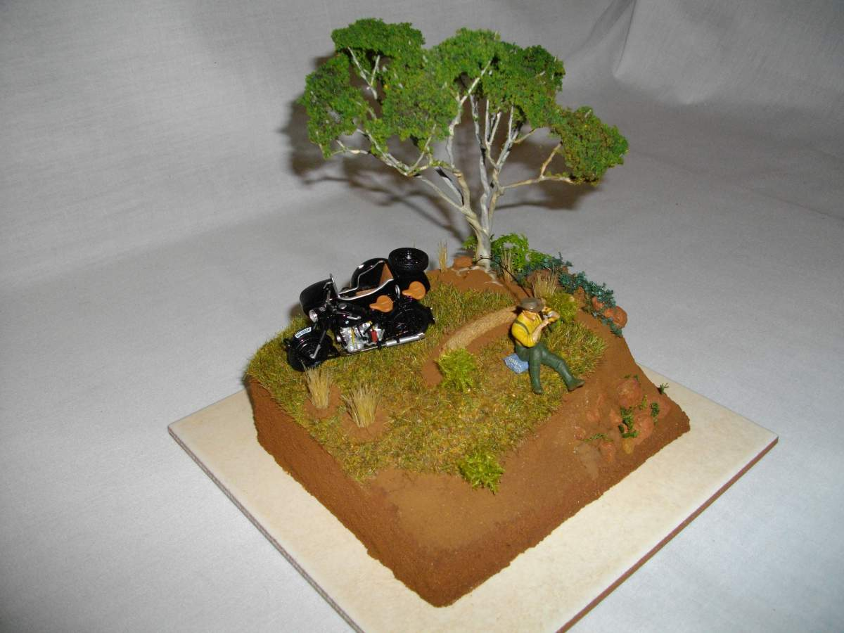BMW with sidecar.-bike-car-diorama-finished-003-jpg