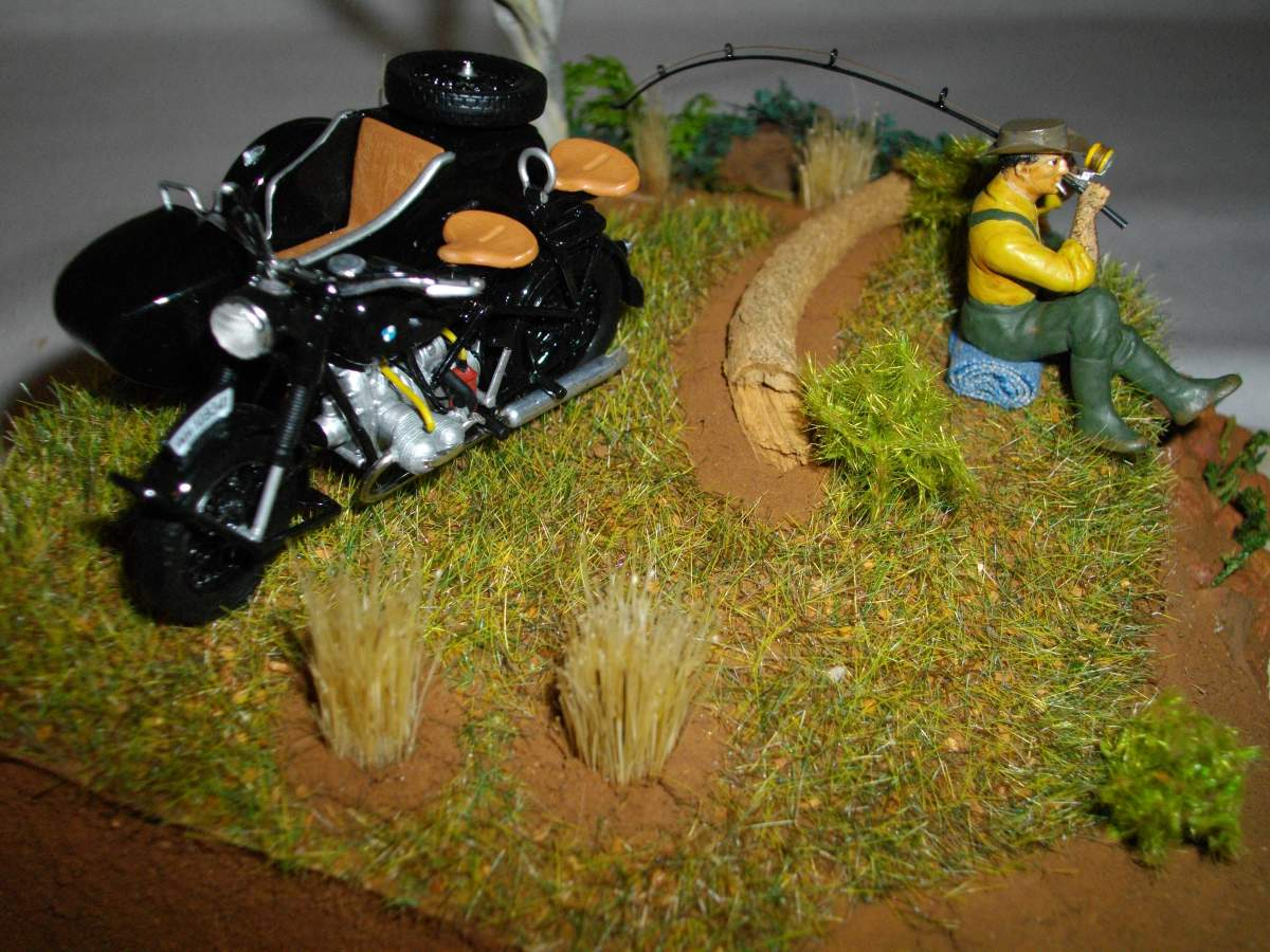 BMW with sidecar.-bike-car-diorama-finished-014-jpg