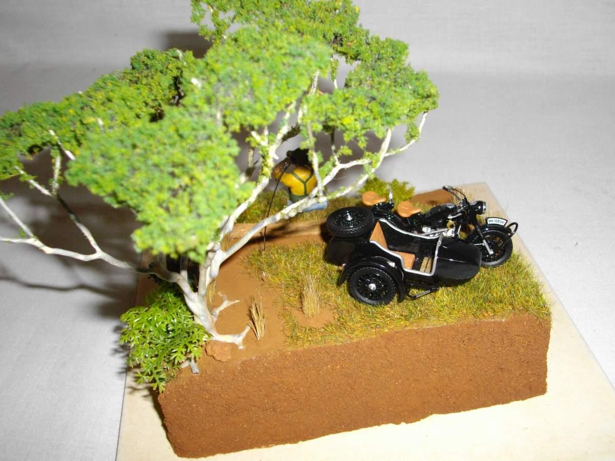 BMW with sidecar.-bike-car-diorama-finished-022-jpg