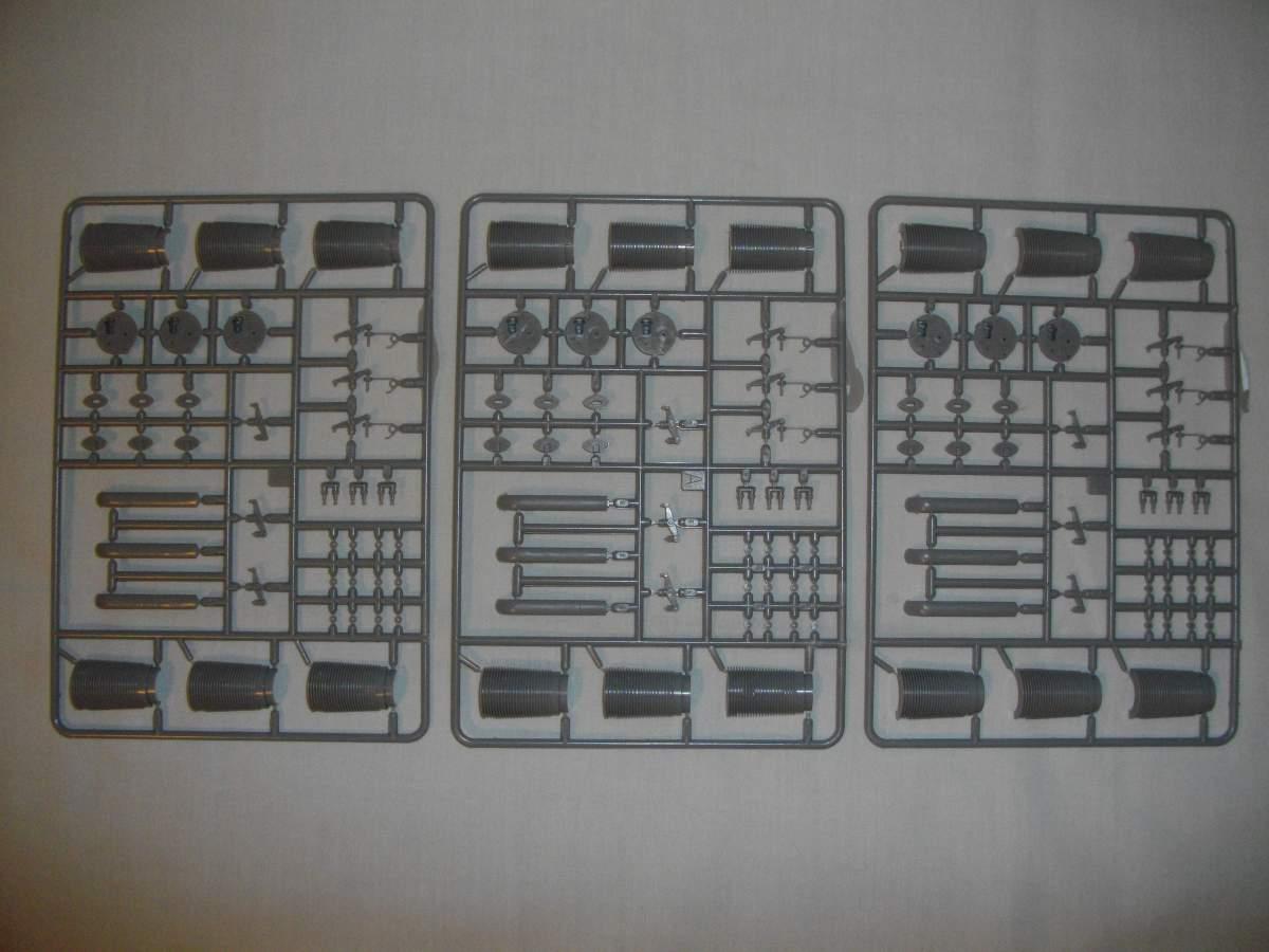 Clerget 9B Rotary Engine. 1/8th. Hasagawa.-003-jpg