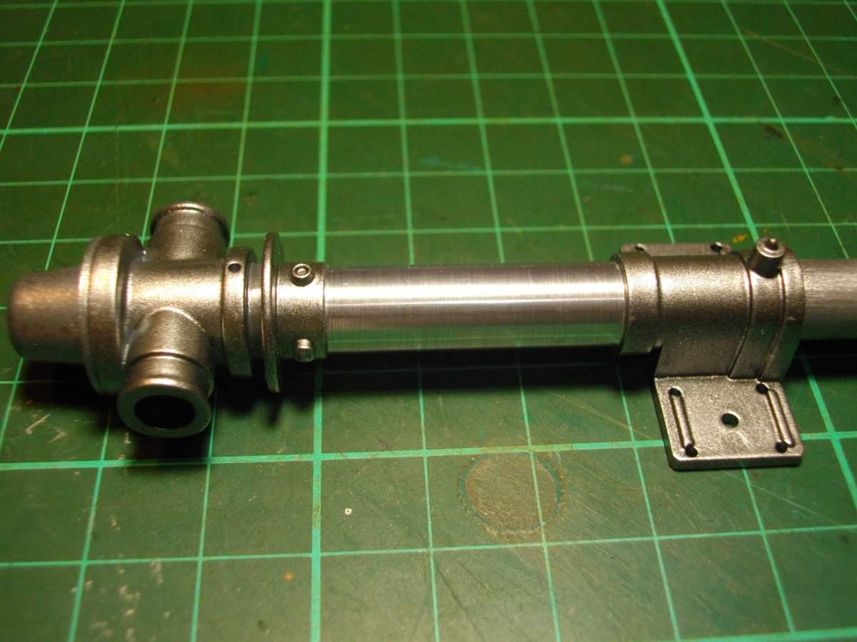 Clerget 9B Rotary Engine. 1/8th. Hasagawa.-main-shaft-006-jpg