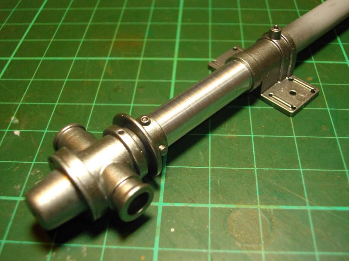Clerget 9B Rotary Engine. 1/8th. Hasagawa.-main-shaft-007-jpg