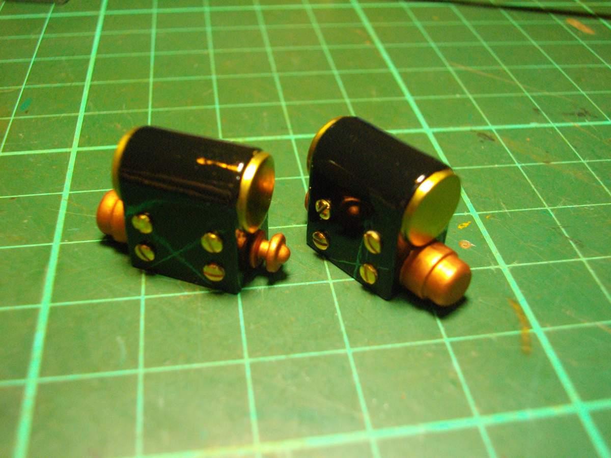 Clerget 9B Rotary Engine. 1/8th. Hasagawa.-magneto-005-jpg