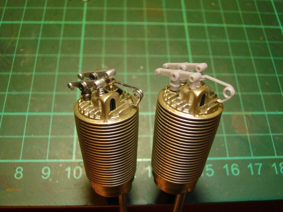 Clerget 9B Rotary Engine. 1/8th. Hasagawa.-valve-springs-compared-original-003-jpg