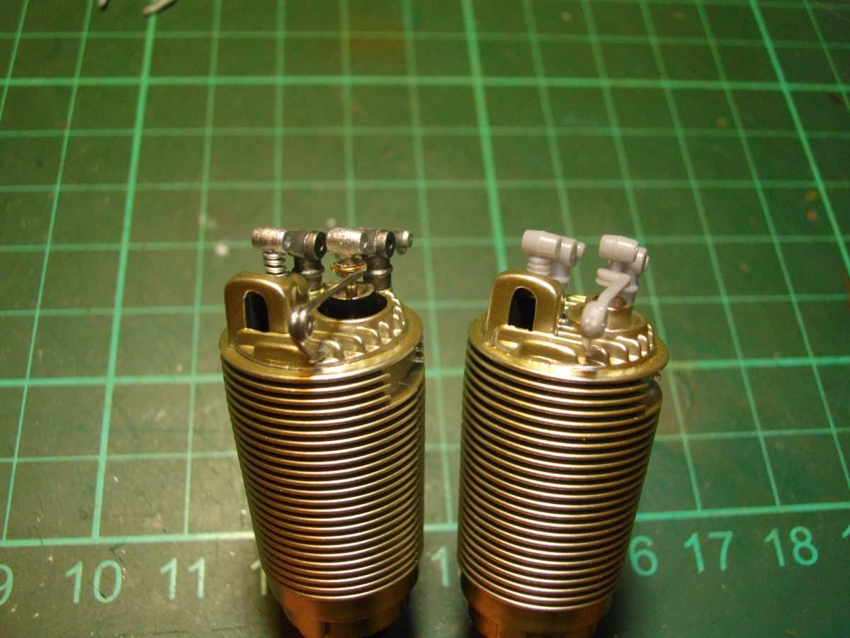 Clerget 9B Rotary Engine. 1/8th. Hasagawa.-valve-springs-compared-original-005-jpg