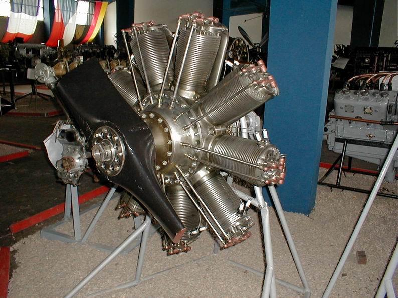Clerget 9B Rotary Engine. 1/8th. Hasagawa.-clerget-9b_2-jpg