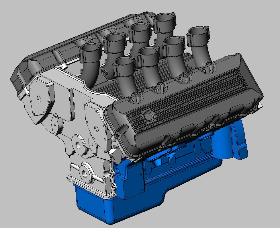 1/8 & 1/12 scale SOHC 427-injected-motor-jpg