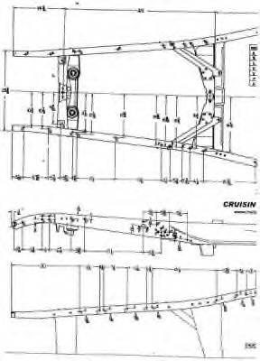 32 ford frame bracing/brake and clucth pedal assembly.-frame001-jpg
