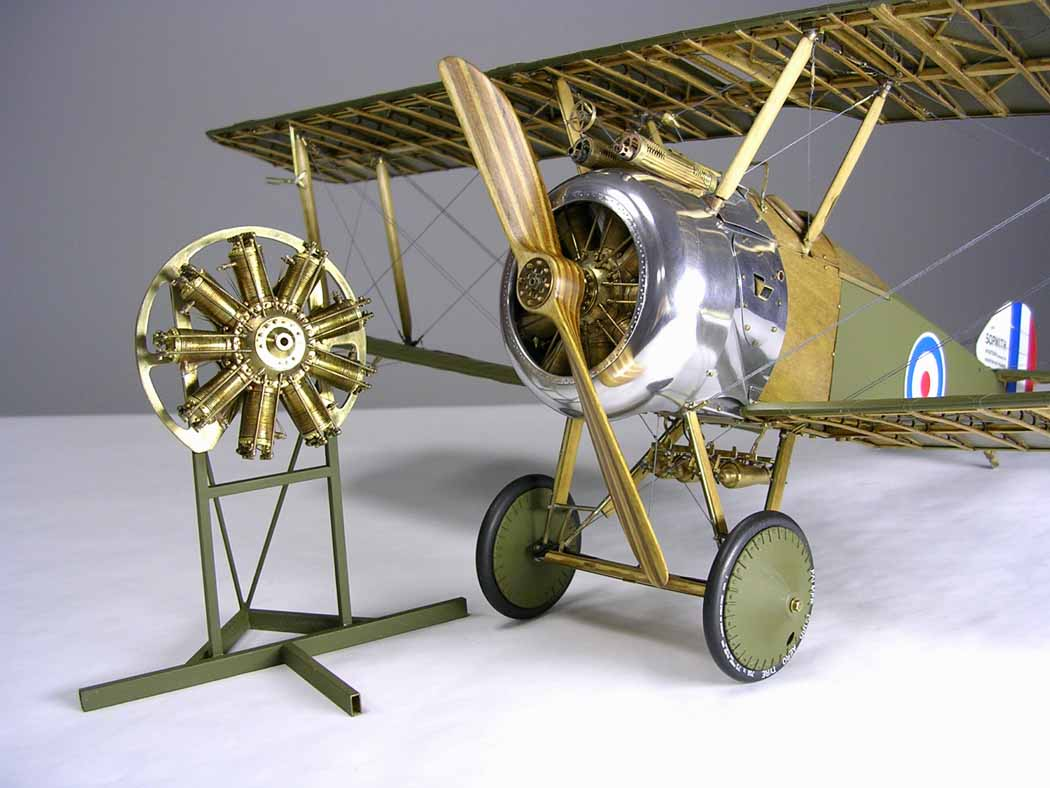 Tommy Ivo's Showboat 1/8 Scale-15-final-plane-engine-stand-jpg