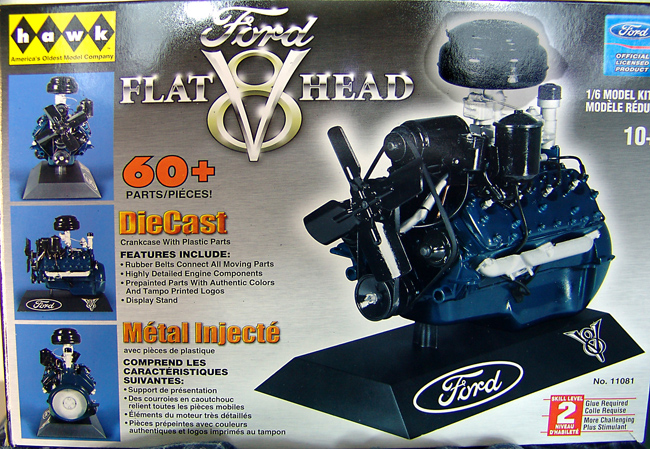 The 1/6 Hawk 48 Ford Flathead - Built and Detailed-flat1-jpg