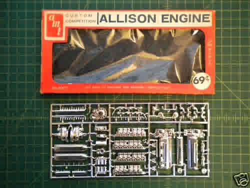 """1/25 scale Allison V-12 """"F"""" type engine-amt-allison-1-25-scale-model-kit-3007-1-jpeg"""