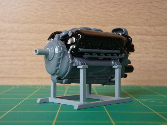 """1/25 scale Allison V-12 """"F"""" type engine-left-front-jpg"""
