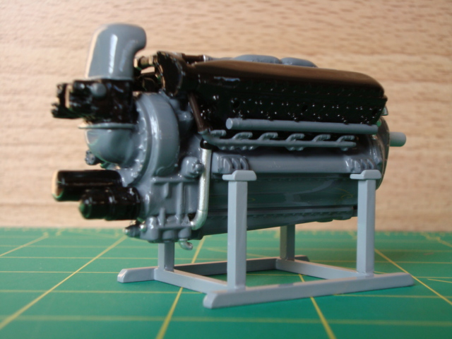 "1/25 scale Allison V-12 ""F"" type engine-rear-jpg"