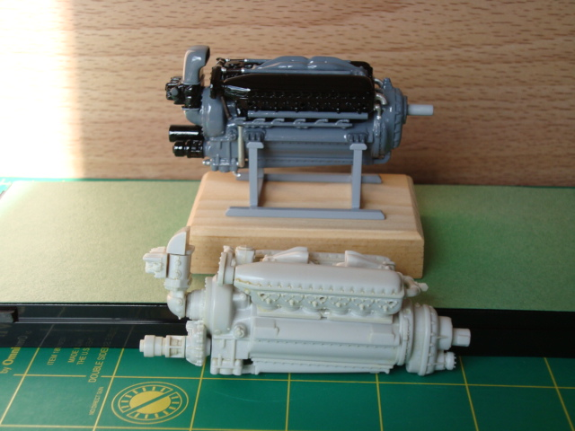"1/25 scale Allison V-12 ""F"" type engine-original-amt-kit-version-1-jpg"