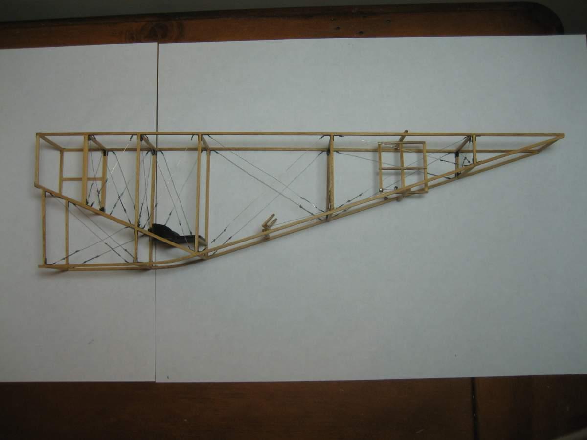 Baby White Monoplane 1/16 Scale Scratchbuild-004-jpg