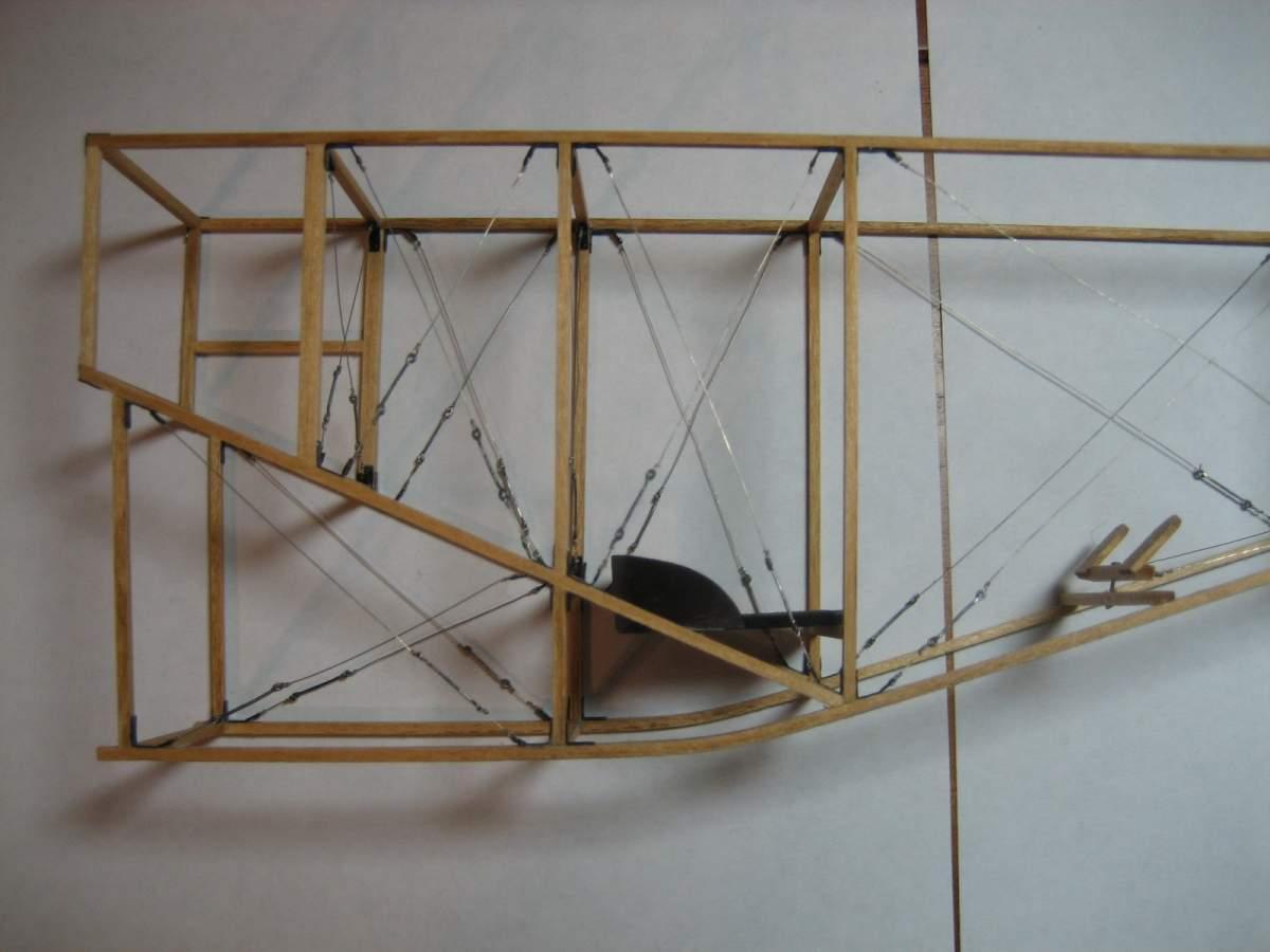 Baby White Monoplane 1/16 Scale Scratchbuild-005-jpg