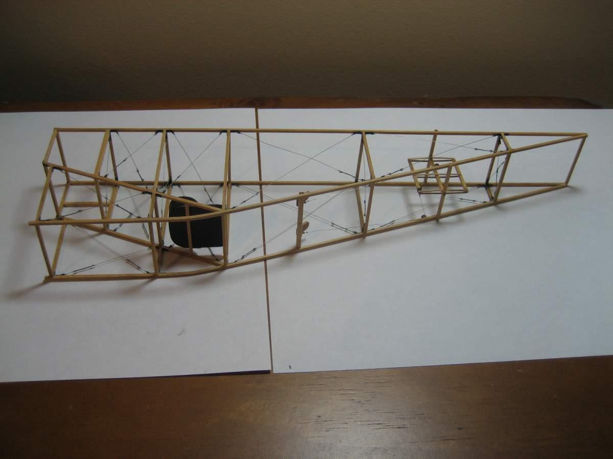 Baby White Monoplane 1/16 Scale Scratchbuild-007-jpg