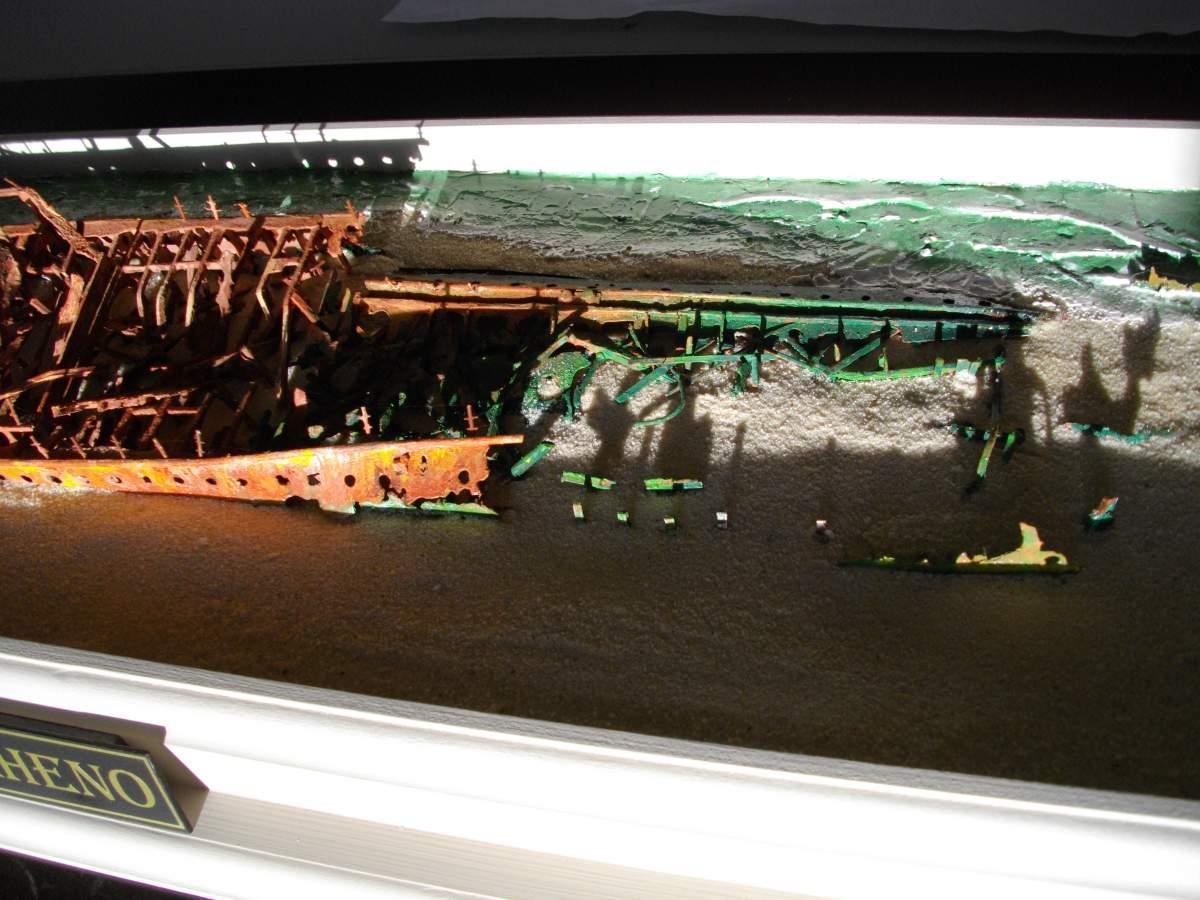S.S. Maheno. Ship wreck by Barry.-barrys-boats-024-jpg