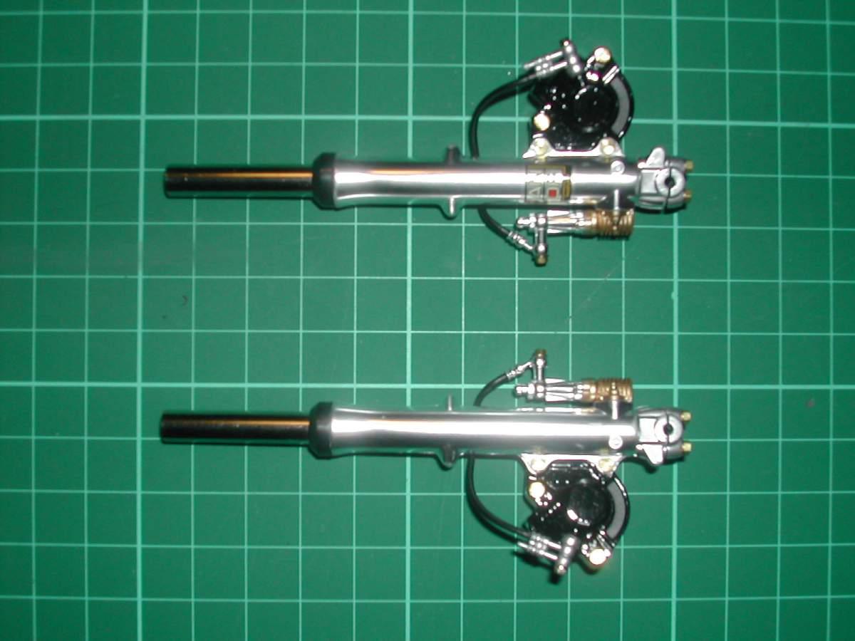 1/6 Tamiya SUZUKI GSX1100S KATANA.-forks-brakes-1-jpg