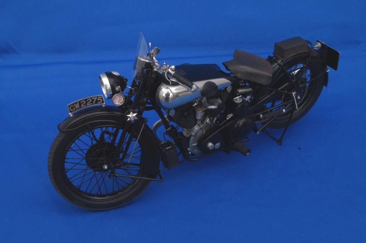 Brough Superior SS100 GW2275 - Model Factory Hiro - 1/9-a5806930-jpg