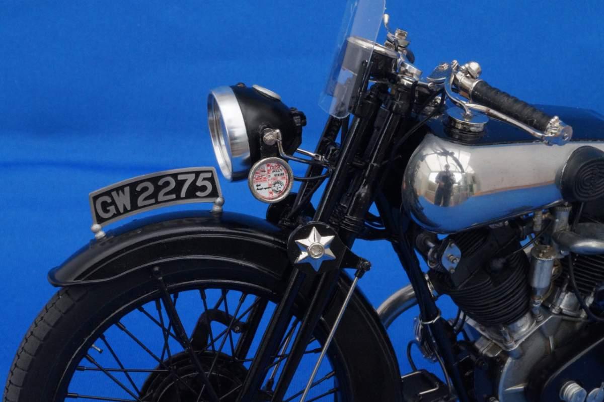 Brough Superior SS100 GW2275 - Model Factory Hiro - 1/9-a5806934-jpg