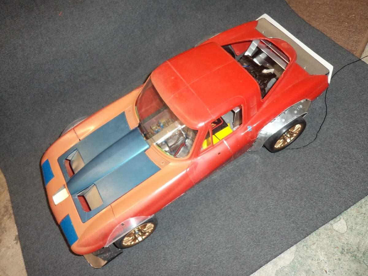 Corvette GSR Build - humble beginnings-corvette-gsr-overhead-4-jpg