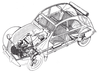 2CV CITROEN AZ 1956 build from scratch, Scale 1/6-schema-jpg