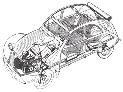 2CV CITROEN AZ 1956 build from scratch, Scale 1/6-schema-jpg