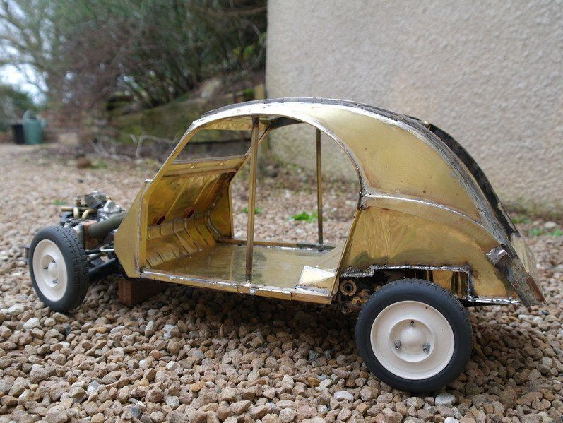 2CV CITROEN AZ 1956 build from scratch, Scale 1/6-8888-jpg