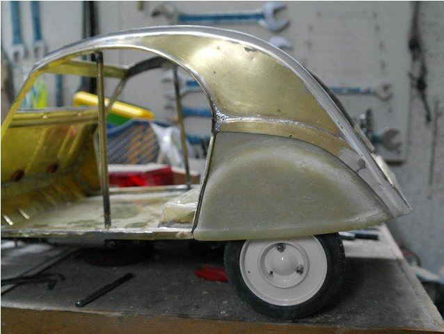 2CV CITROEN AZ 1956 build from scratch, Scale 1/6-3333-jpg
